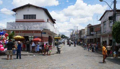 Centro de Santaluz - foto: Raimundo Mascarenhas