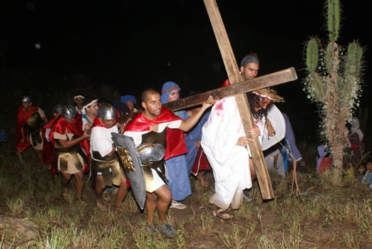 Paixão de Cristo em Retirolândia - foto: Raimundo Mascarenhas