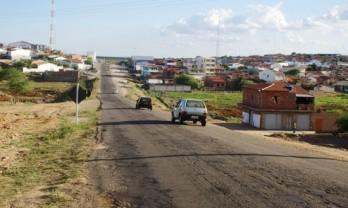 Trecho da chegada de São José do Jacuípe, antes da recuperação