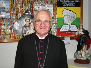 Dom Ottorino está completando junto com a diocese 10 anos de vida episcopal.