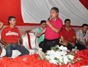 Rosemberg Pinto esteve muito presente na campanha municipal