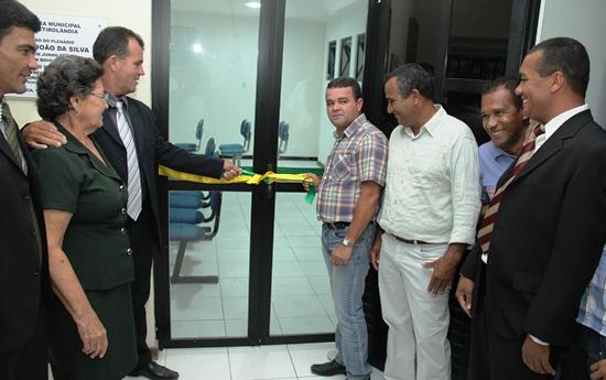 Inauguração do novo Plenário da Câmara de Retirolândia - foto 1- Raimundo Mascarenhas