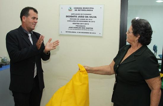 Inauguração do novo Plenário da Câmara de Retirolândia - foto 2- Raimundo Mascarenhas
