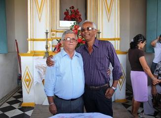 Jorge Andrade e Elizeu Tolentino - foto- Raimundo Mascarenhas
