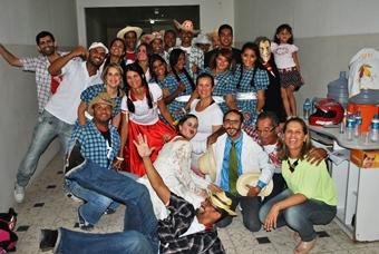 Festa do Piseiro aconteceu na Praça da Matriz, na noite de sexta