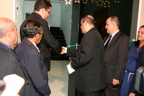 inauguração do novo Anexo da Camara de Queimadas - des
