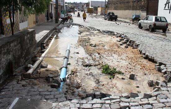 destruição pelas chuvas em Coité - 13
