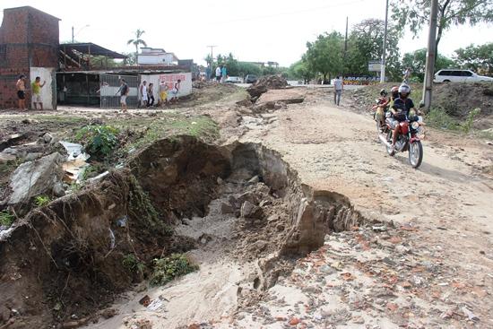 destruição pelas chuvas em Coité - 4
