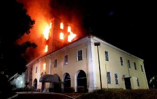 incendio Salvador