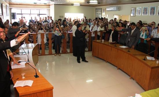 posse dos vereadores de São Domingos - XI- foto- Raimundo Mascarenhas