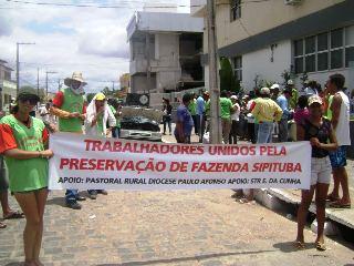 protesto rural