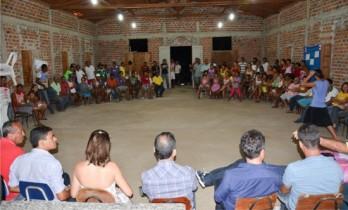 reunião no açude de itarandi