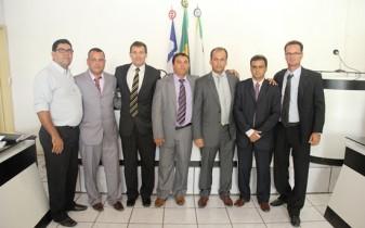 Abertura dos trabalhos legislativos em Riachão do Jacuípe.bancada de oposição