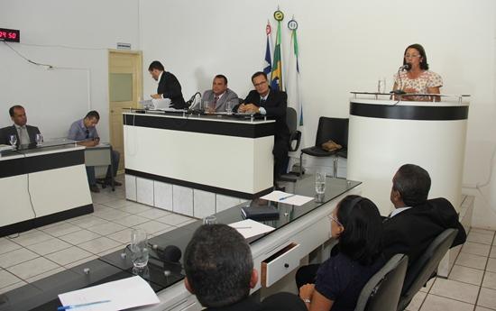 Abertura dos trabalhos legislativos em Riachão do Jacuípe