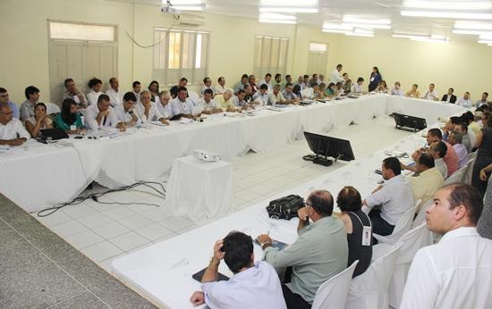 reunião em Tucano