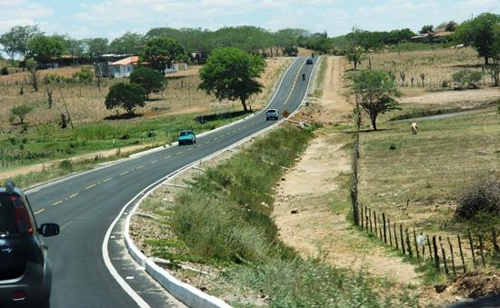 estrada - Serrinha - Ichu