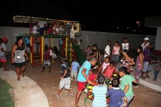 gavião festa dos 28 anos.parque infantil
