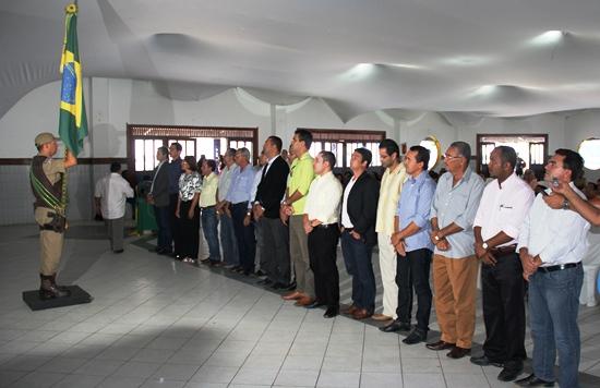 posse dos prefeitos presidentes das juntas do serviço militar.2- foto-Raimundo Mascarenhas