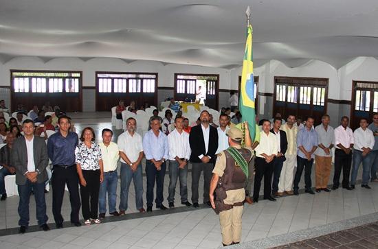 posse dos prefeitos presidentes das juntas do serviço militar