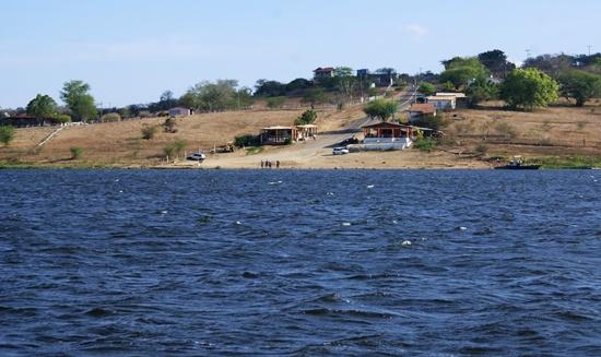 As vítimas deveriam está fazendo este trajeto. No outro lado está Cabaceiras do Paraguassu.