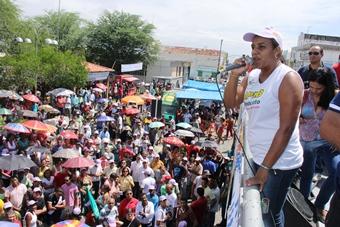 Dia do Trabalho em Riachão do Jacuípe -Jucelma aplb- foto- Raimundo Mascarenhas