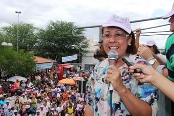 Dia do Trabalho em Riachão do Jacuípe - Tania Matos-2 - foto- Raimundo Mascarenhas