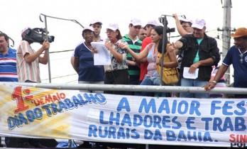 Dia do Trabalho em Riachão do Jacuípe - Tania Matos - foto- Raimundo Mascarenhas