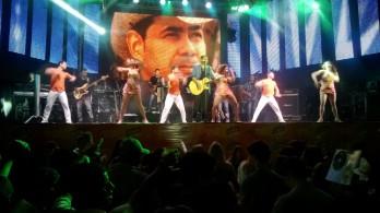 Batista Lima que marcou história no Limão Com Mel agora em carreira solo. Foto: Raimundo Mascarenhas