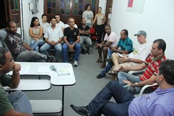 reunião de prefeito e vice de coité com motoristas de ambulância - foto- raimundo mascarenhas