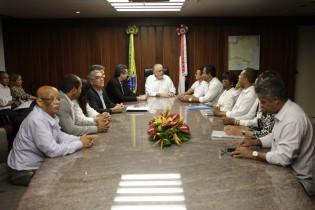 reunião de wagner com sindicatos