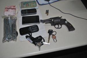 arma, celular