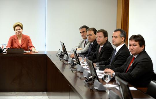 Dilma Reunião OAB
