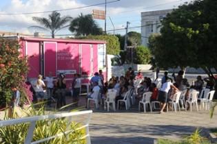 A unidade móvel esteve recentemente em Conceição do Coité