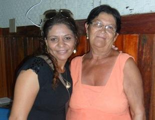 Momento do reencontro no mês passado quando Solange veio de Pernambuco para fazer o DNA