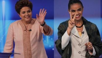 Dilma e Marina são apontadas como favoritas ao pleito de 2014