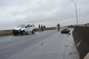 acidente com carro de coité