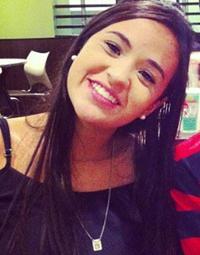 Bruna estava visitando familiares em Recife
