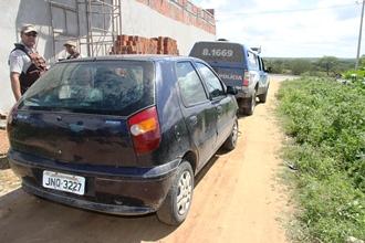 carro furtado em santaluz - abandonado em coité.2