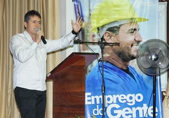 Consagrado no ramo empresarial, Alex Lopes vice-prefeito falou da importância de uma empresa organizada