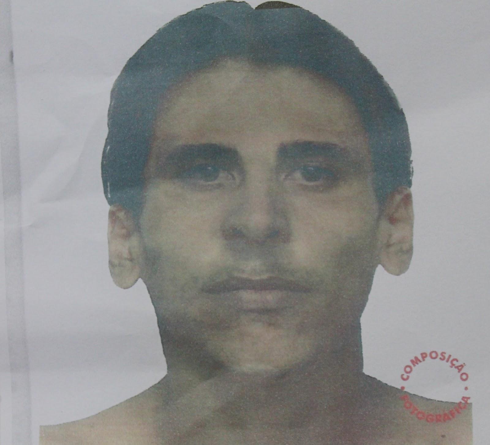 Retrato falado do assassino do vereador