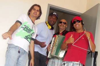 Ivan Costa (Caciques), Rambo (Caciques), Netinho ( Batukuerê) e Ramon ( Batuque Social)