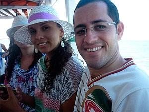 Casal planeja casar na igreja (Foto: Emília Carneiro/ Arquivo Pessoal)