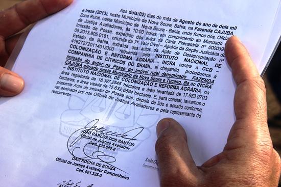 legalização da fazenda cajuba - 8 - foto- raimundo mascarenhas - calilanoticias