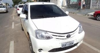 policia de tucano prende traficantes e recupera carro tomado de assalto em Coité