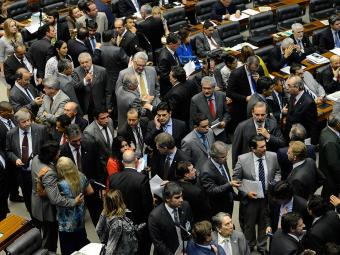 Na sessão, 455 deputados e 71 senadores mantiveram todos os vetos feitos por Dilma Fabio Rodrigues Pozzebom | Agência Brasil