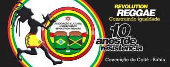 ADESIVO REVOLUTION 10 ANOS