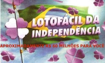 LOTOFÁCIL DA INDEPENDENCIA 2013 CONCURSO 952