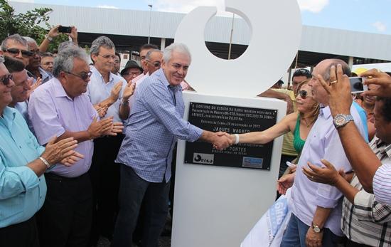 inauguração da estrada de aribicé - 1