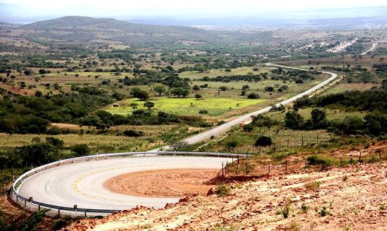 inauguração da estrada de aribicé -6