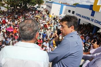 reinauguração do hospital municipal-alex